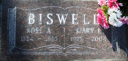 Mary Isabelle Skip <i>Henry</i> Biswell