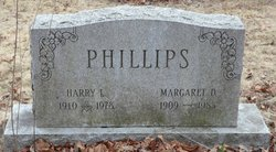 Margaret D <i>Berger</i> Phillips