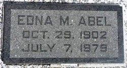 Edna M. Abel