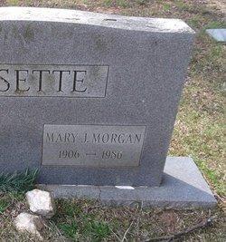 Mary J <i>Morgan</i> Bissette