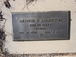 Arthur Edward Ed Anderson