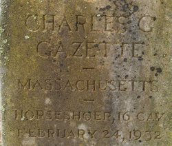 Charles George Gazette