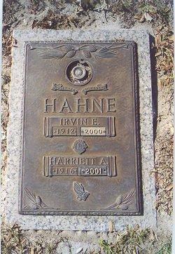 Harriett A Hahne