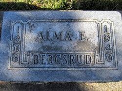 Alma E. Bergsrud