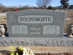 Ella B. <i>Schmidt</i> Holinsworth