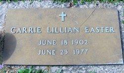 Carrie Lillian <i>Pearson</i> Easter