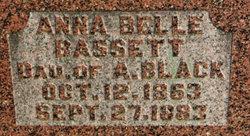 Anna Belle <i>Black</i> Bassett