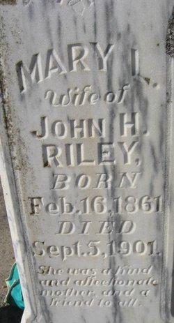 Mary L. <i>Brandt</i> Riley