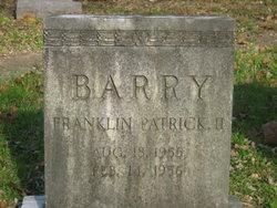 Franklin Patrick Barry, II