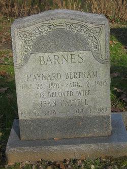 Maynard Bertram Barnes