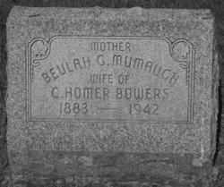 Beulah G <i>Mumaugh</i> Bowers