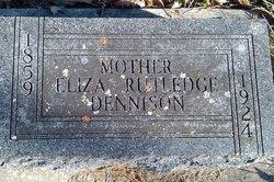 Eliza <i>Dennison</i> Rutledge