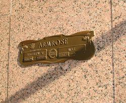 Edith Mae <i>Wolfe</i> Armrose