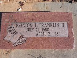 Preston Terill Franklin, II