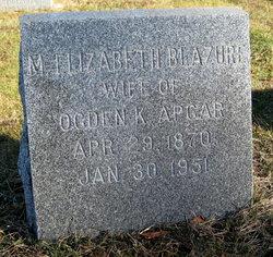 Mary Elizabeth <i>Blazure</i> Apgar