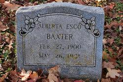 Alberta Esco Baxter