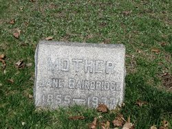 Jane <i>Scott</i> Bainbridge