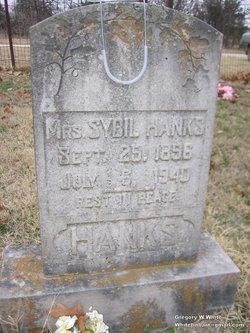 Sybil <i>Harris</i> Hanks