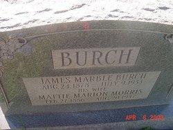 Mattie Marion <i>Morris</i> Burch