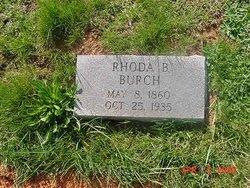 Rhoda B. Burch