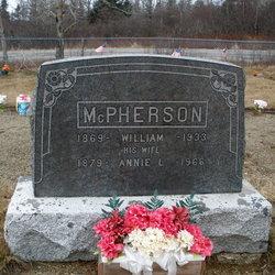 Annie Laura <i>Church</i> McPherson