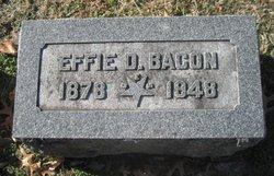 Effie D <i>True</i> Bacon