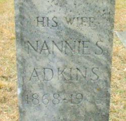 Nannie S <i>Bennett</i> Adkins