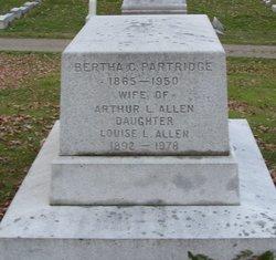 Bertha <i>Partridge</i> Allen
