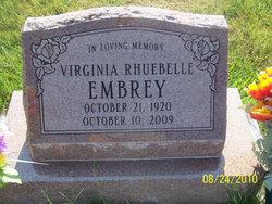 Virginia Rhuebelle <i>Gold</i> Embrey
