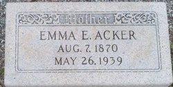 Emma Ella Josphine <i>Cox</i> Acker