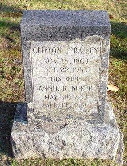Annie R <i>Buker</i> Bailey