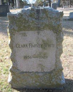 Clara <i>Harvey</i> White