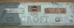 Annie Belle Croft