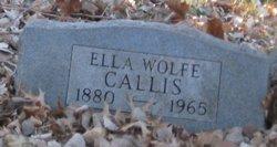 Ella <i>Wolfe</i> Callis