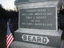 Emily J <i>Burritt</i> Beard