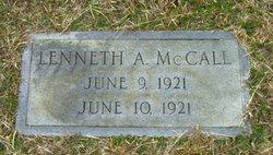 Lenneth A McCall