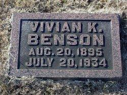 Vivian K. Benson