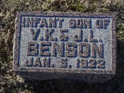 Infant Son Benson