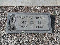 Edna <i>Taylor</i> Son
