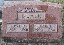 Lillie F. Blair