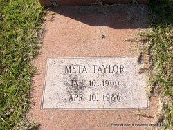 Meta <i>Taylor</i> Simonton