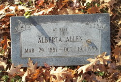Alberta Allen