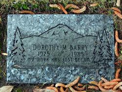 Dorothy M <i>Lyons</i> Barry