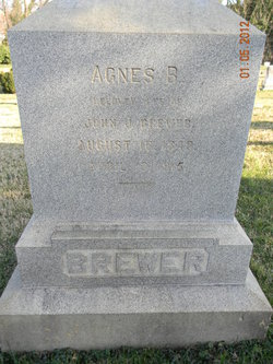 Agnes Brooke <i>Hopkins</i> Brewer