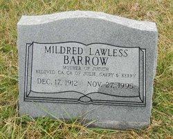 Mildred <i>Lawless</i> Barrow