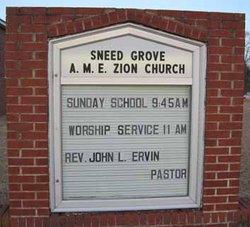Sneed Grove AME Zion Church Cemetery
