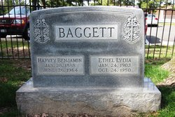 Ethel Lydia <i>King</i> Baggett