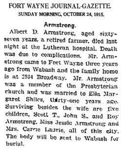 Albert Dawes Armstrong