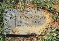 Ann Elizabeth Judy <i>Welch</i> Carswell