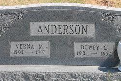 Verna M. <i>Smith</i> Anderson
